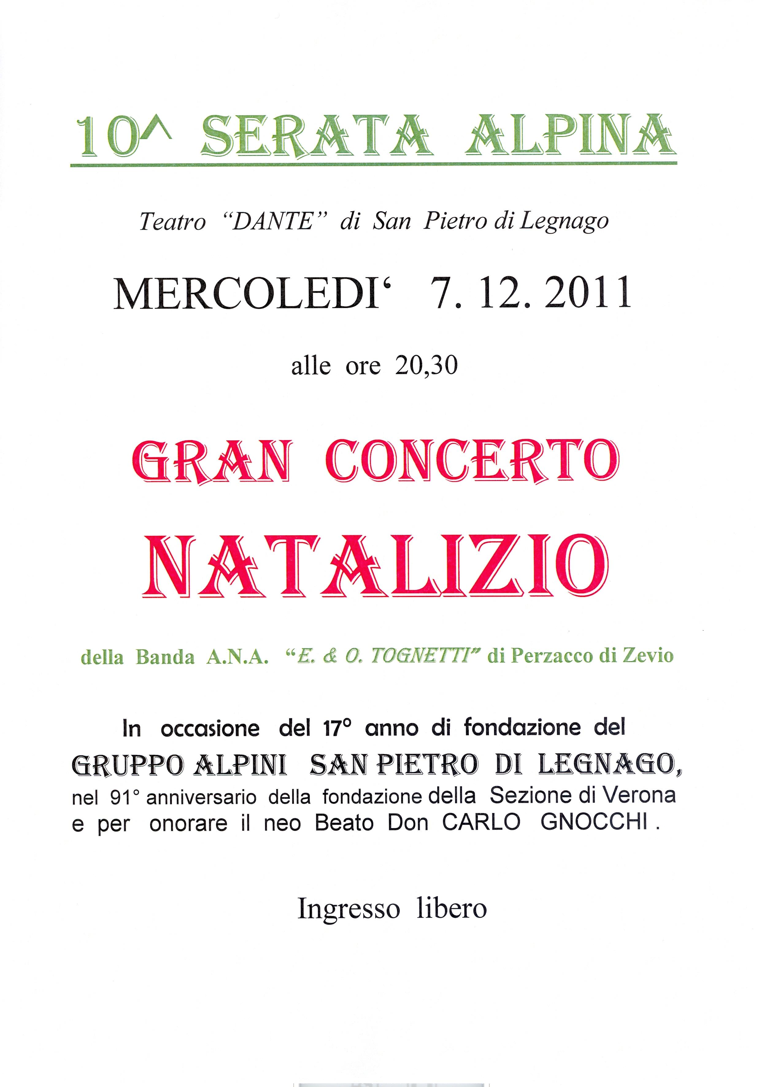 San Pietro Di Legnago Verona teatro dante di san pietro di legnago 10 serata alpina