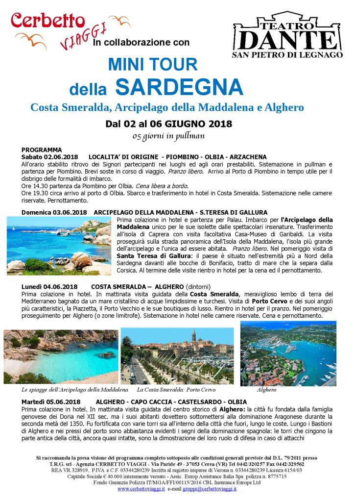 thumbnail of Tour Sardegna